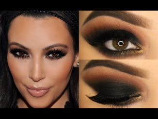 Kim Kardashian Makyajı, makyaj, makyaj yapımı