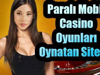 Paralı Casino, Mobil Casino