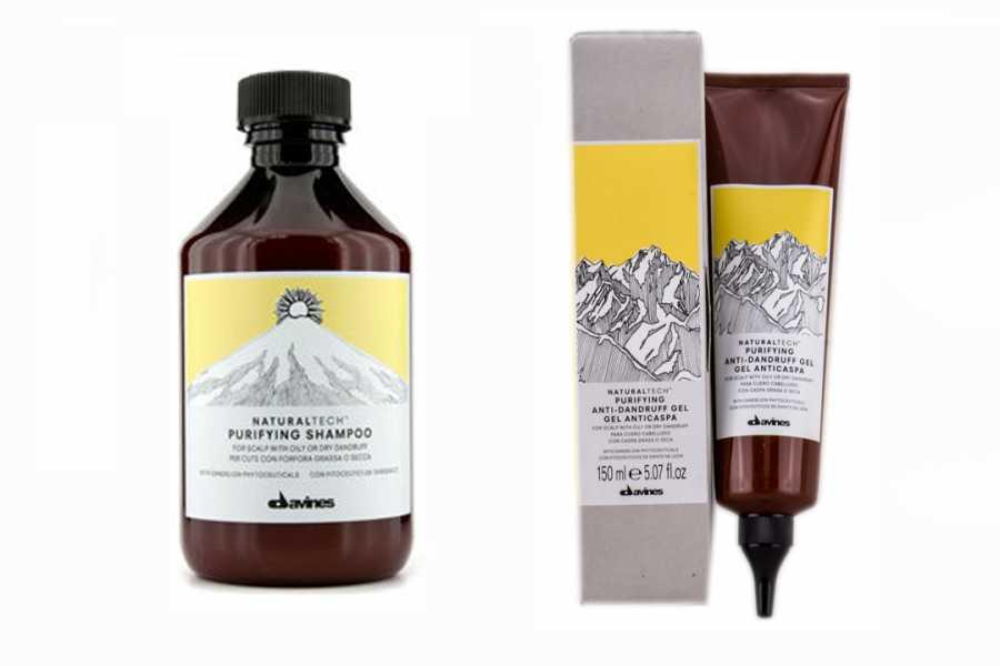 Davines purifying saç bamım ürünü, davines saç bakım ürünleri, davines purifying bileşenleri