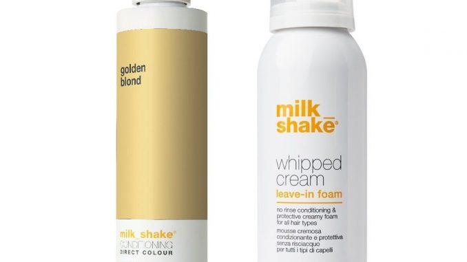 milk shake, sprey saç köpüğü, saç bakım köpüğü