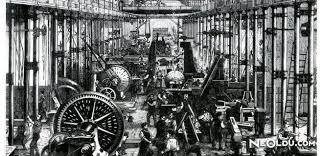 sanayi gelişimi, sanayi gelişimi ile makinelerin gelişi